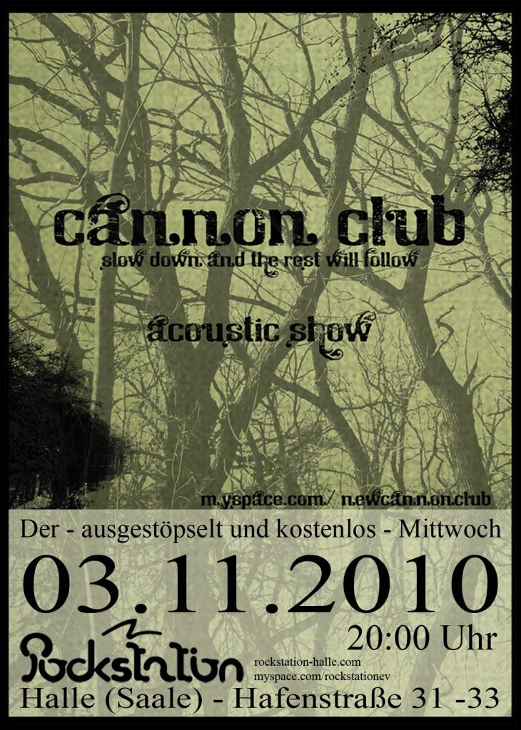 cannonclub - A6 - front